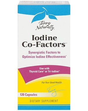Europharma Iodine Co-Factors 120 ct