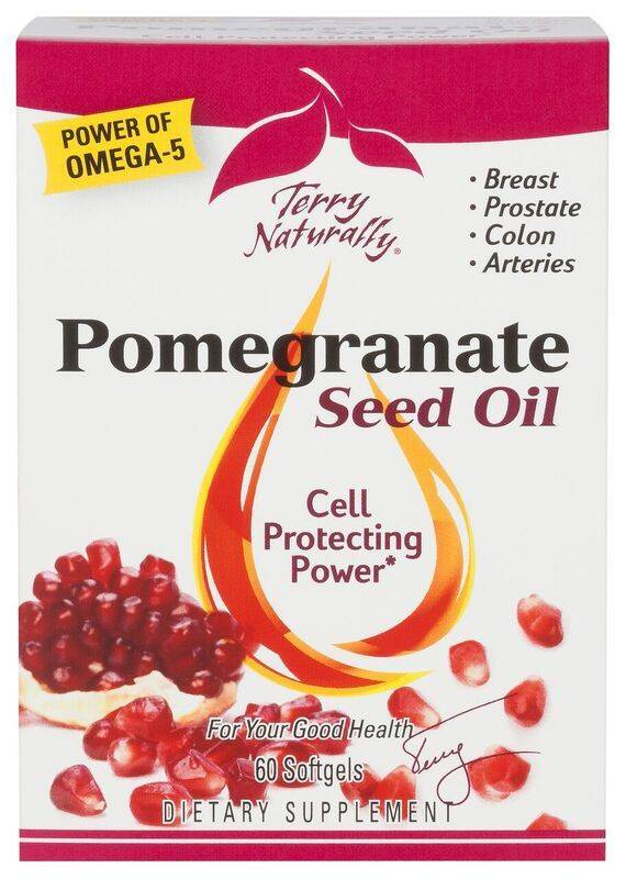 Europharma Terry Naturally Pomegranate Seed Oil 60 ct