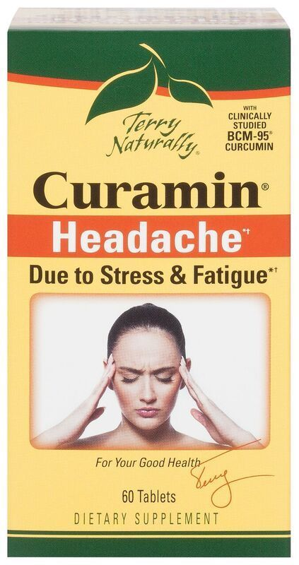 Europharma Terry Naturally Curamin Headache 60 ct