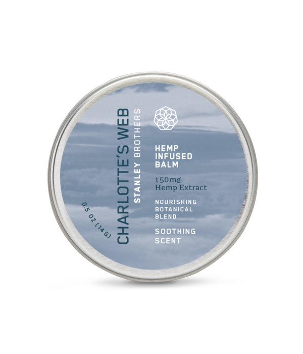 Charlotte's Web CW Hemp Infused Balm Soothing Scent .5oz Single