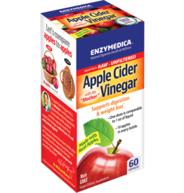Enzymedica Apple Cider Vinegar Capsules 60 ct
