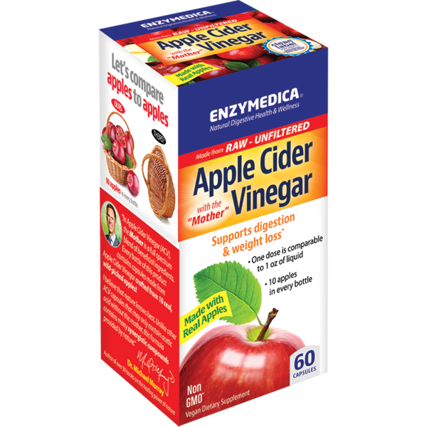 Apple Cider Vinegar Capsules 60 ct