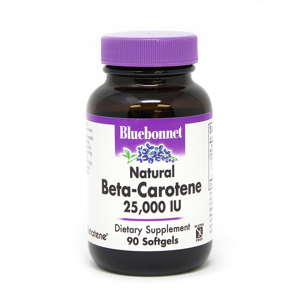 Natural Beta-Carotene 25,000 IU 90ct