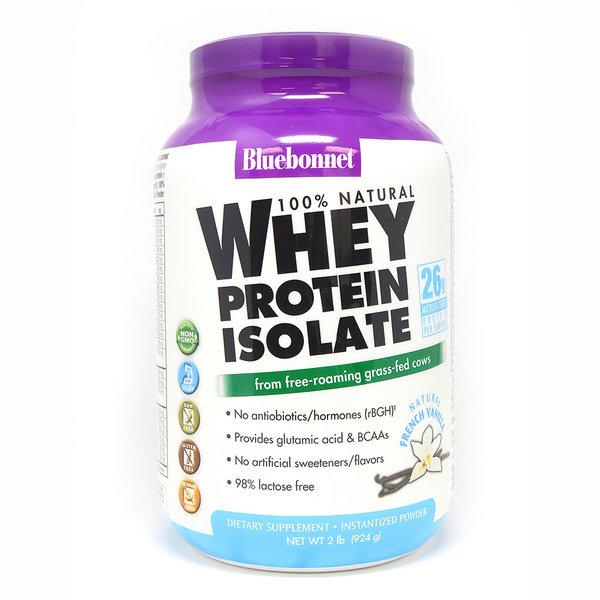 Whey Protein Isolate Powder Vanilla 2lb
