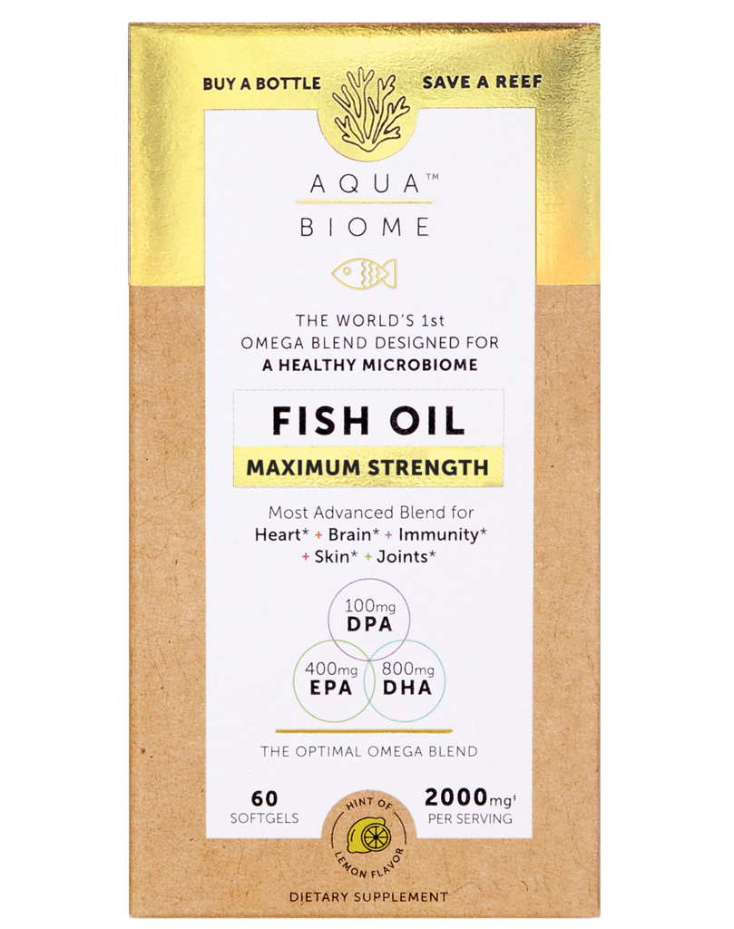Enzymedica Enzymedica Aqua Biome Fish Oil Maximum 2000mg 60ct