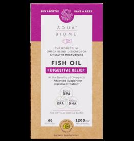 Enzymedica Aqua Biome Fish Oil Digestive Relief 1200mg 60ct