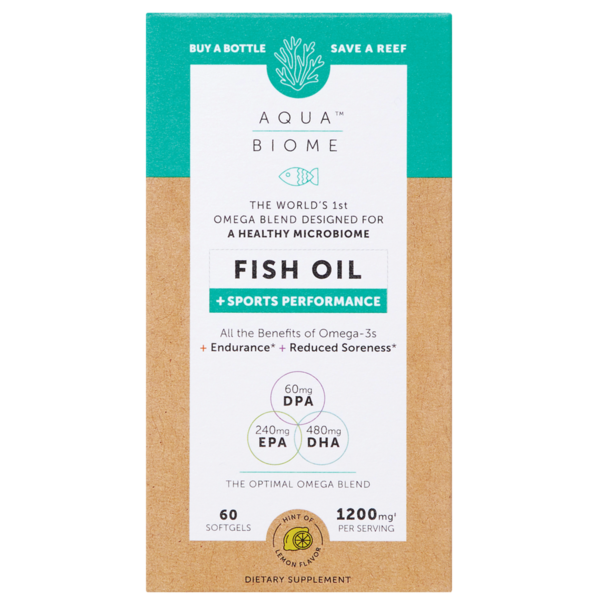Aq Bio Fish Oil Sport 1200mg 60ct