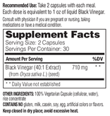 Enzymedica Enzymedica Black Vinegar 60ct