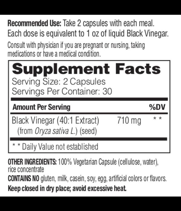 Enzymedica Enzymedica Black Vinegar 60ct 00