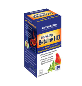 Enzymedica Betaine HCI 600mg 120ct