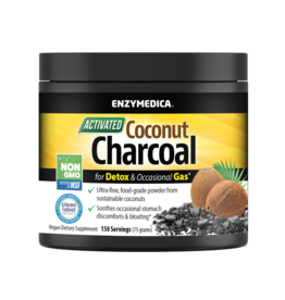 Enzymedica Coconut Charcoal 150 servings