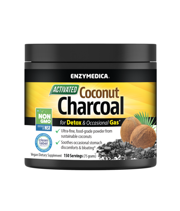 Enzymedica Enzymedica Coconut Charcoal 150 servings
