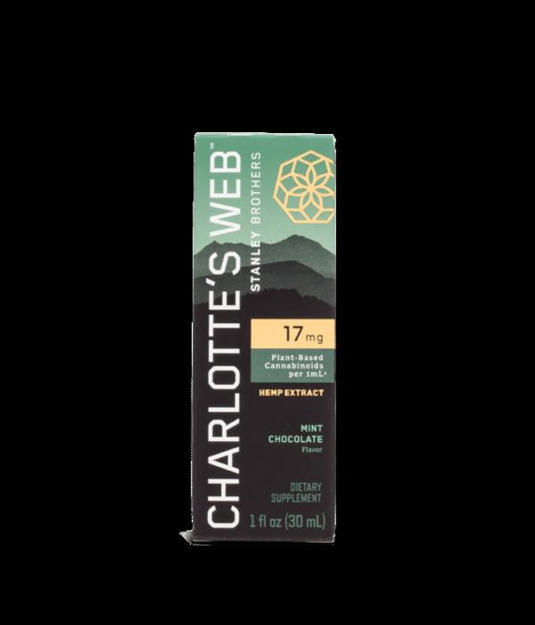 Charlotte's Web Charlotte's Web 17mg Mint Chocolate 1oz