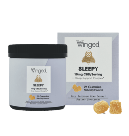 Winged CBD Sleep 10mg Gummies 21ct