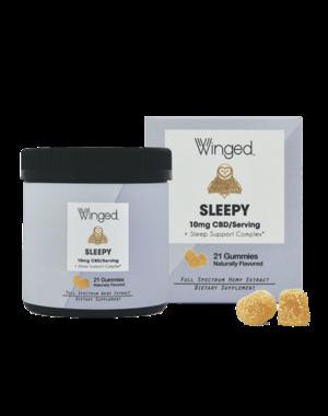 Winged CBD Sleep 10mg Gummies 21ct