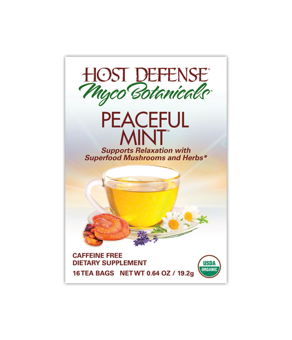 Host Defense Host Defense Peaceful Mint Tea