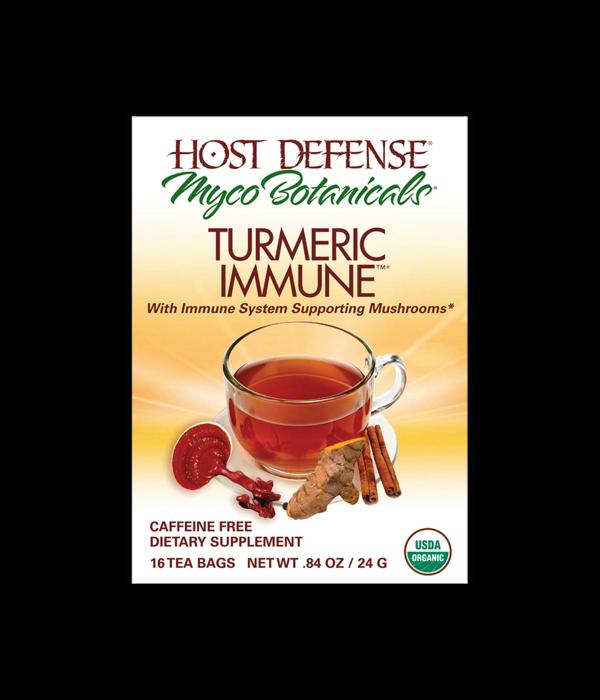Host Defense Turmeric Immune Tea