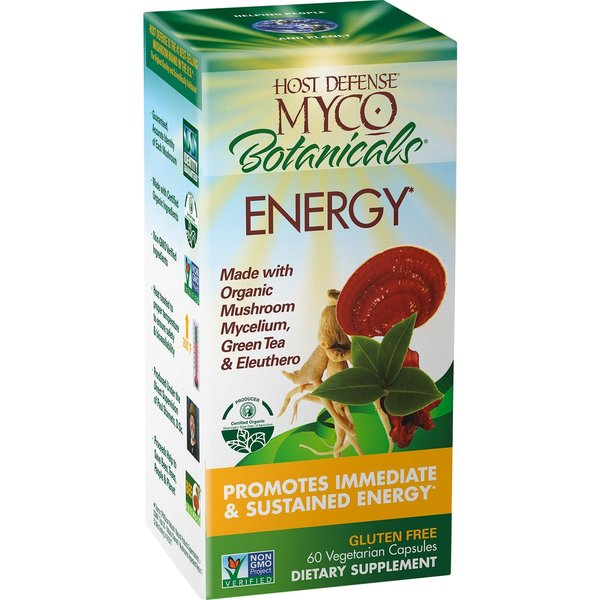 MycoBotanicals Energy 60 ct