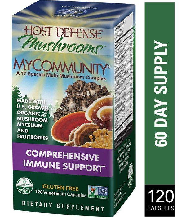 Host Defense HD MyCommunity Immune Support 120 ct