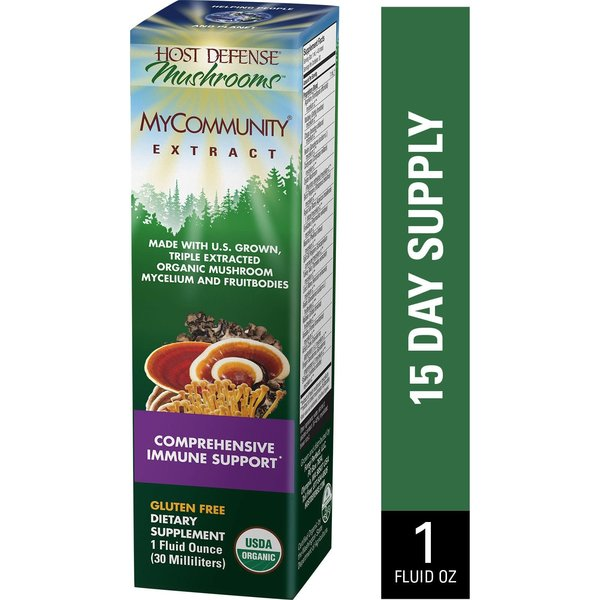 Host Defense MyCommunity Extract 1oz