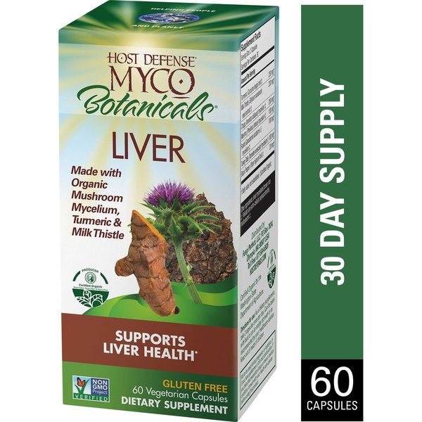 MycoBotanicals Liver 60 ct