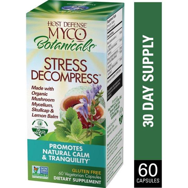 Host Defense MycoBotanicals Stress Decompress 60ct