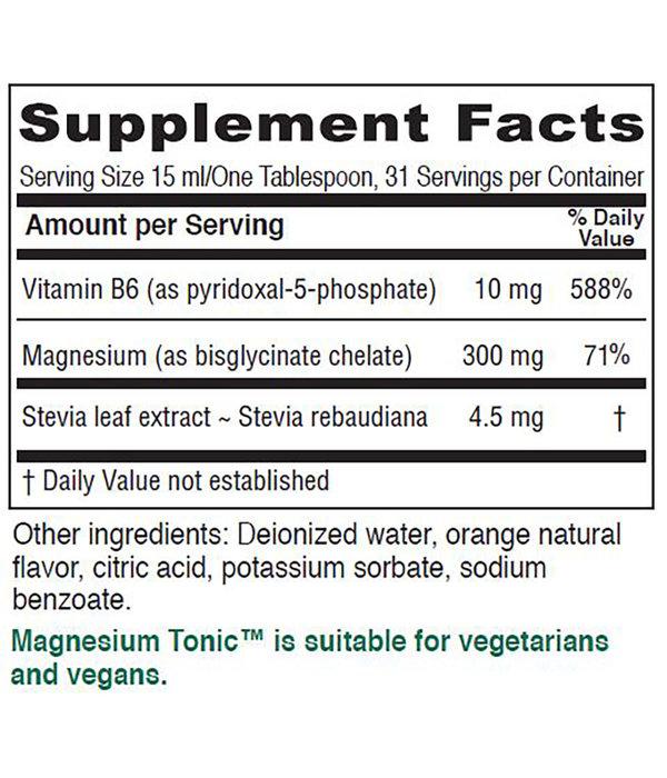 Magnesium Tonic  16 oz