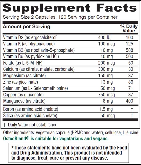 OsteoBlend  120 ct