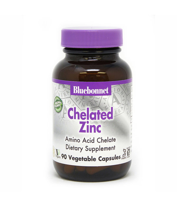 Bluebonnet Bluebonnet Chelated Zinc 30mg 90ct