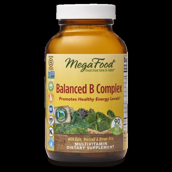 MegaFood Balanced B Complex 90ct