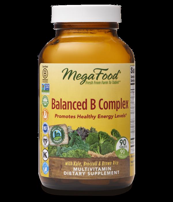 MegaFood MegaFood Balanced B Complex 90ct