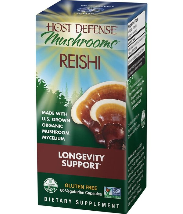 Host Defense HD Reishi Longevity Support 60ct