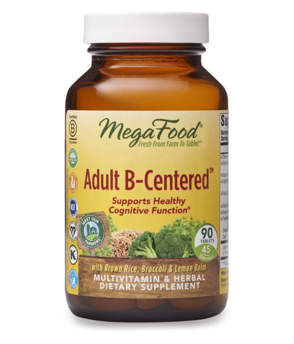 MegaFood MegaFood Adult B-Centered 90 ct