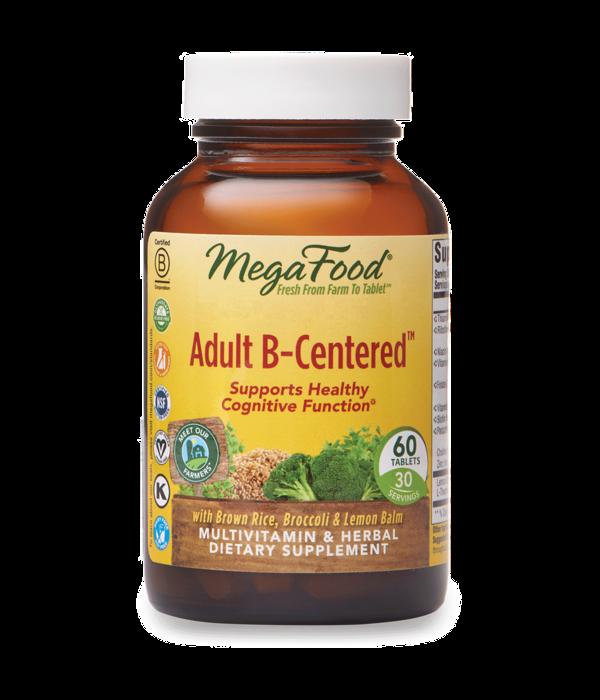MegaFood MegaFood Adult B-Centered 60 ct