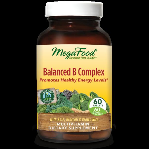MegaFood Balanced B Complex 60ct
