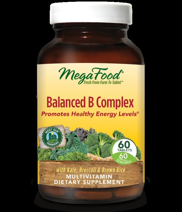MegaFood MegaFood Balanced B Complex 60 ct