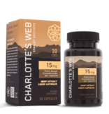 Charlotte's Web Charlotte's Web 15mg Liquid Capsules 30ct