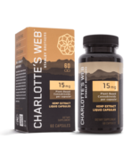 Charlotte's Web Charlotte's Web 15mg Liquid Capsules 60ct