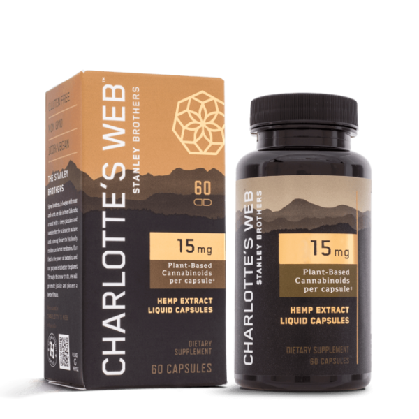 Charlotte's Web 15mg Liquid Capsules 60ct