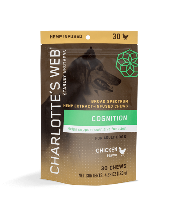 Charlotte's Web Charlotte's Web Canine Cognition Chew 30ct