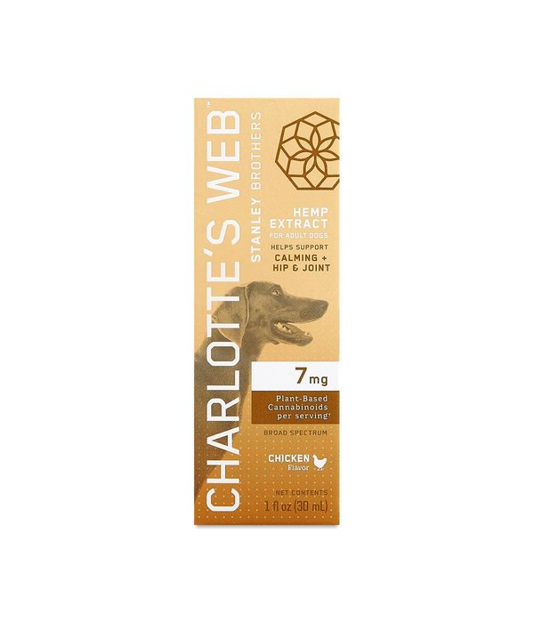 Charlotte's Web Charlotte's Web Canine Drops 7mg Chicken 30ml