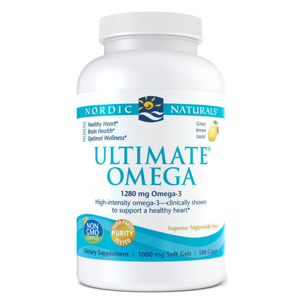Nordic Naturals Ultimate Omega 1280mg 180ct