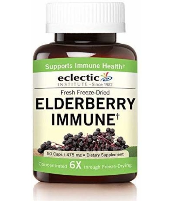 Eclectic Institute Eclectic Institute Elderberry Immune 475mg 50ct