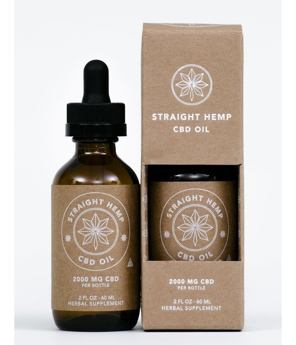 Straight Hemp Straight Hemp 2000mg 60ml
