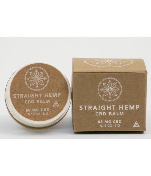 Straight Hemp Straight Hemp 88mg CBD balm .18oz