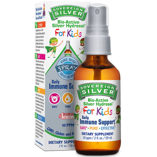 Sovereign Silver Natural Immunogenics Corp Silver Kids Fine Mist 2oz