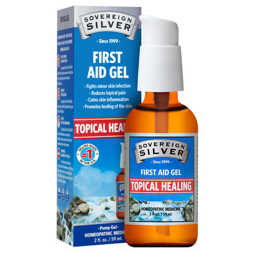Sovereign Silver Bio-Active Silver First Aid Gel 2oz