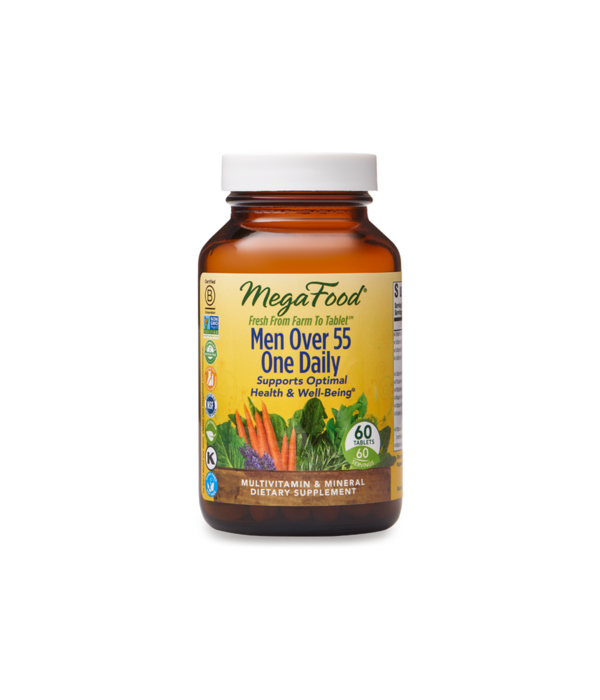 MegaFood MegaFood Men Over 55 One Daily 60ct