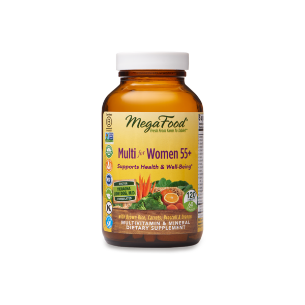 MegaFood Multi for Women 55+ 120ct