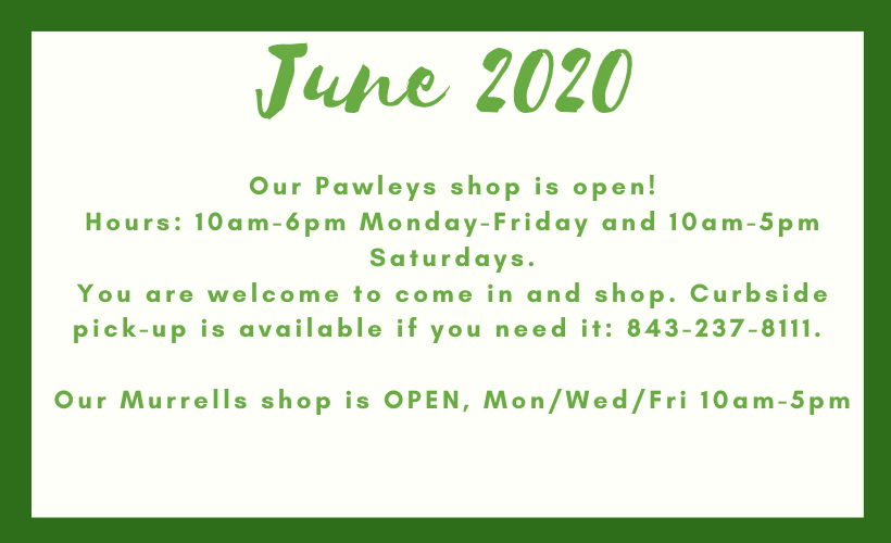 New location and June Hours
